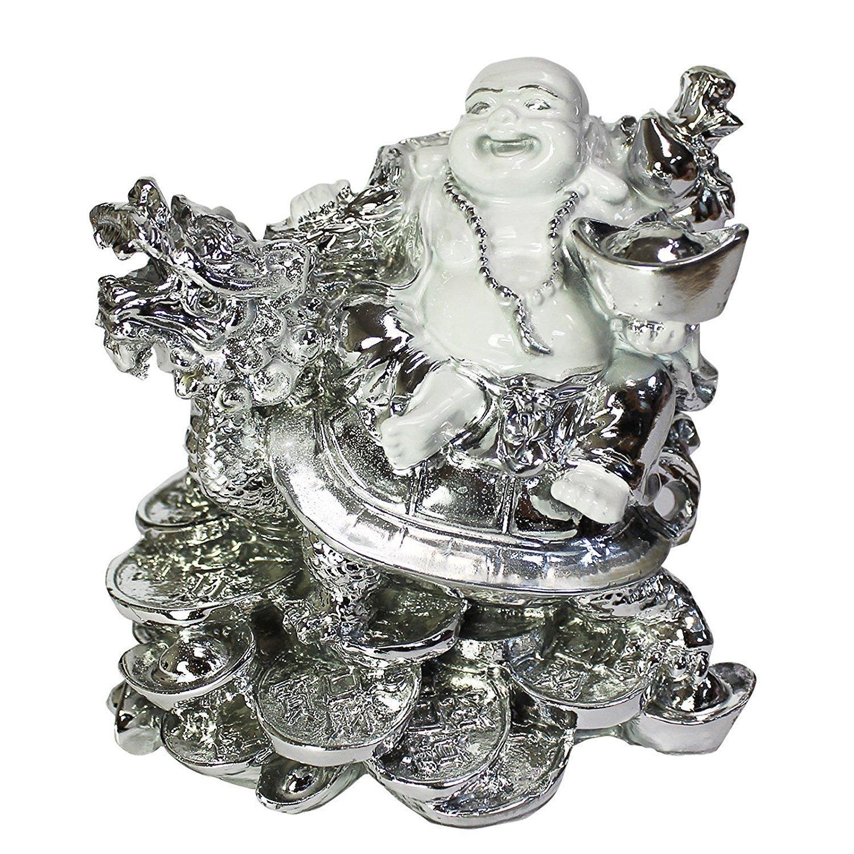 Amazon.com: creativegiftsr Vastu Feng Shui de Buda sonriente ...