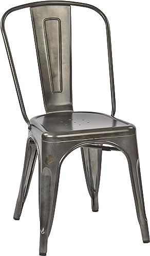 Work Smart/OSP Designs Bristow Armless Chair 4 Pack