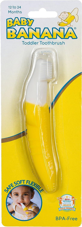 PRINCE LIONHEART Brosse /à Dents Baby Banana Jaune