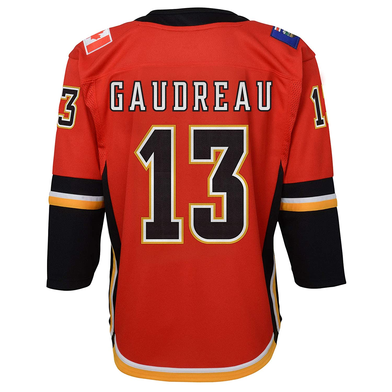 Johnny Gaudreau Calgary Flames Youth Premier Home Jersey