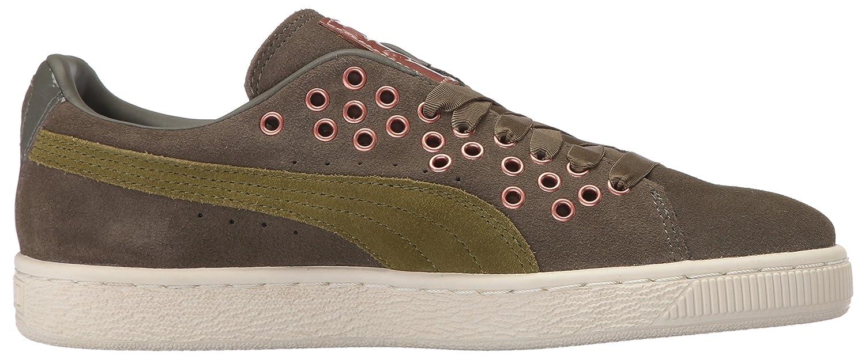 PUMA Women\'s Suede XL Lace VR Wn Sneaker B01MU1AC3Q 7 M US Olive ...