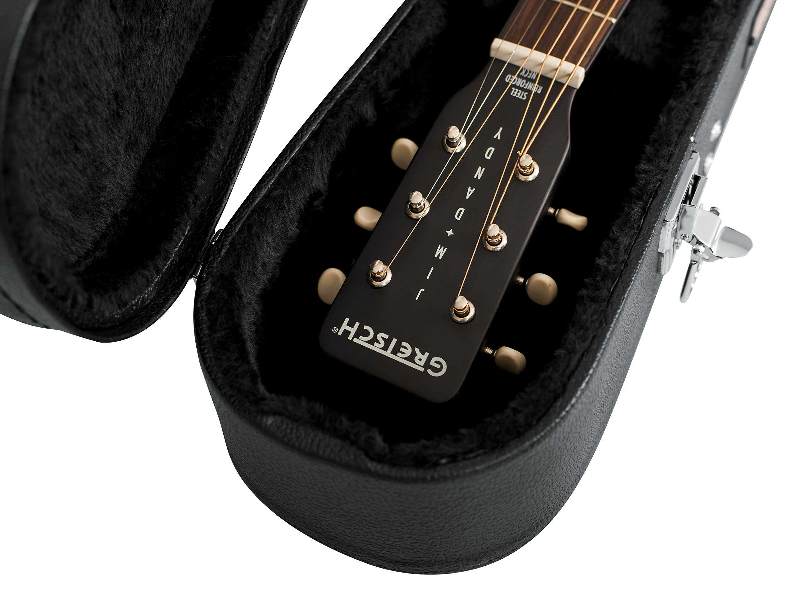 Gator Cases Hard-Shell Wood Case for 3/4 Sized Acoustic Guitars (GWE-ACOU-3/4) by Gator (Image #9)