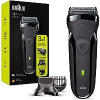 Braun Series 3 Shave&Style 300BT Elektrisch Scheerapparaat, Scheermes Voor Mannen, Zwart