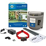 PetSafe Wireless Fence Pet Containment System, Covers up to 1/2 Acre, for Dogs over 8 lb, Waterproof Receiver with Tone / Sta