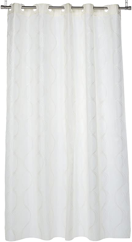 Amazon.com: Carnation Home Fashions EZ On No Hooks Needed! 70 by ...