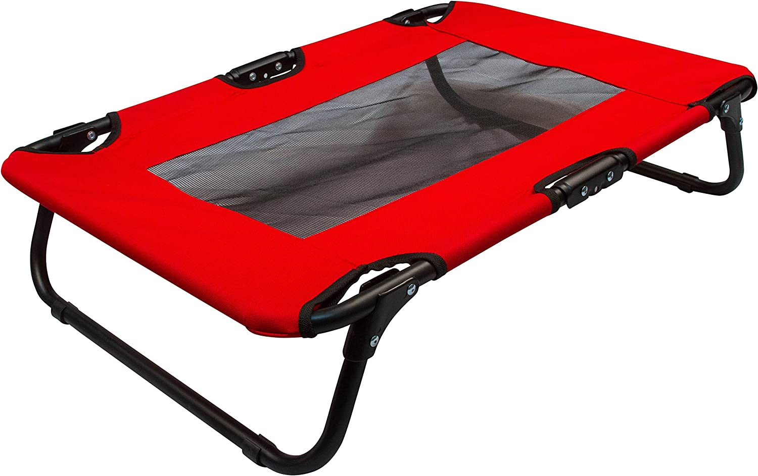 Coleman Folding Cot For Pet Up to 50 Lbs – Red