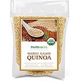 Healthworks Quinoa White Whole Grain Raw Organic (80 Ounces / 5 Pounds) | Protein, Fiber & Iron | Peruvian Origin | Rice & Pa