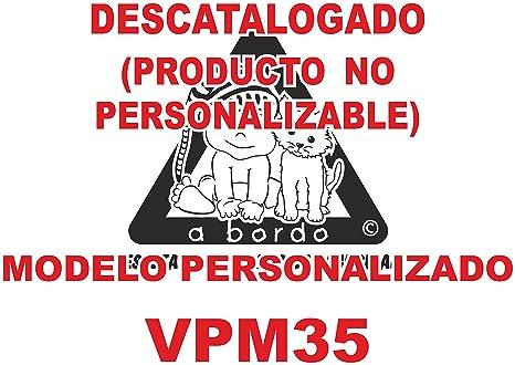 Adhesivo personalizado Bebé a bordo VPC35. DISEÑADO, VENDIDO ...