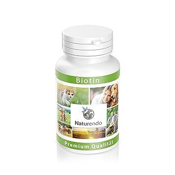 natural Endo® Biotina 120 Pastillas especialmente para perros - Resistente Y saludable piel: Amazon.es: Productos para mascotas
