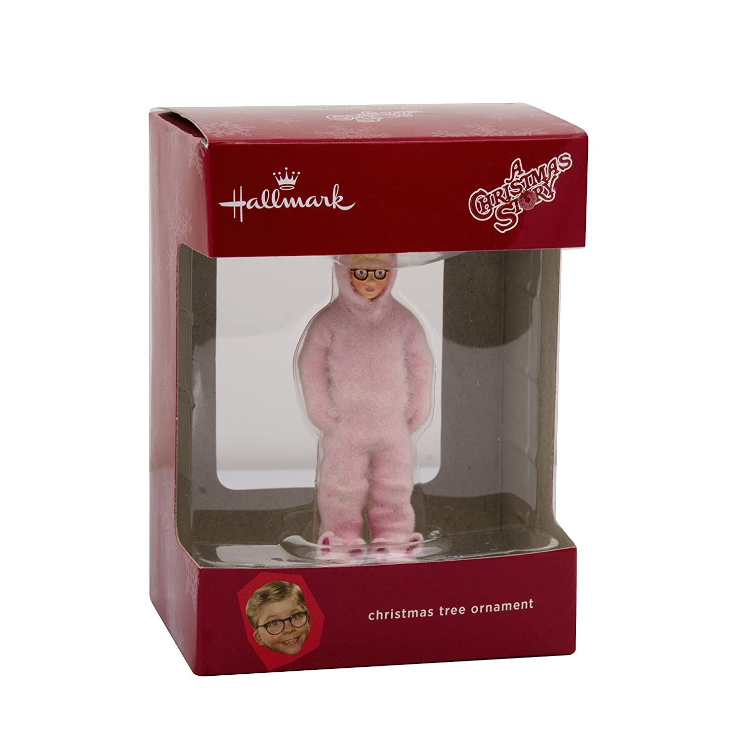 amazoncom hallmark a christmas story ralphie in bunny suit christmas ornament home kitchen