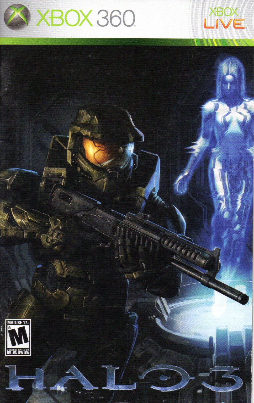 halo 3 xbox 360 instruction booklet microsoft xbox 360 manual only rh amazon com Xbox 360 Arcade Manual For the New Xbox Controller Instruction Manual