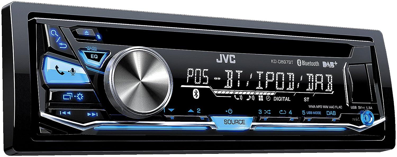 JVC KD-DB97BT USB/CD-Receiver (DAB+, Front-AUX, Bluetooth) schwarz JVCKENWOOD Deutschland GmbH