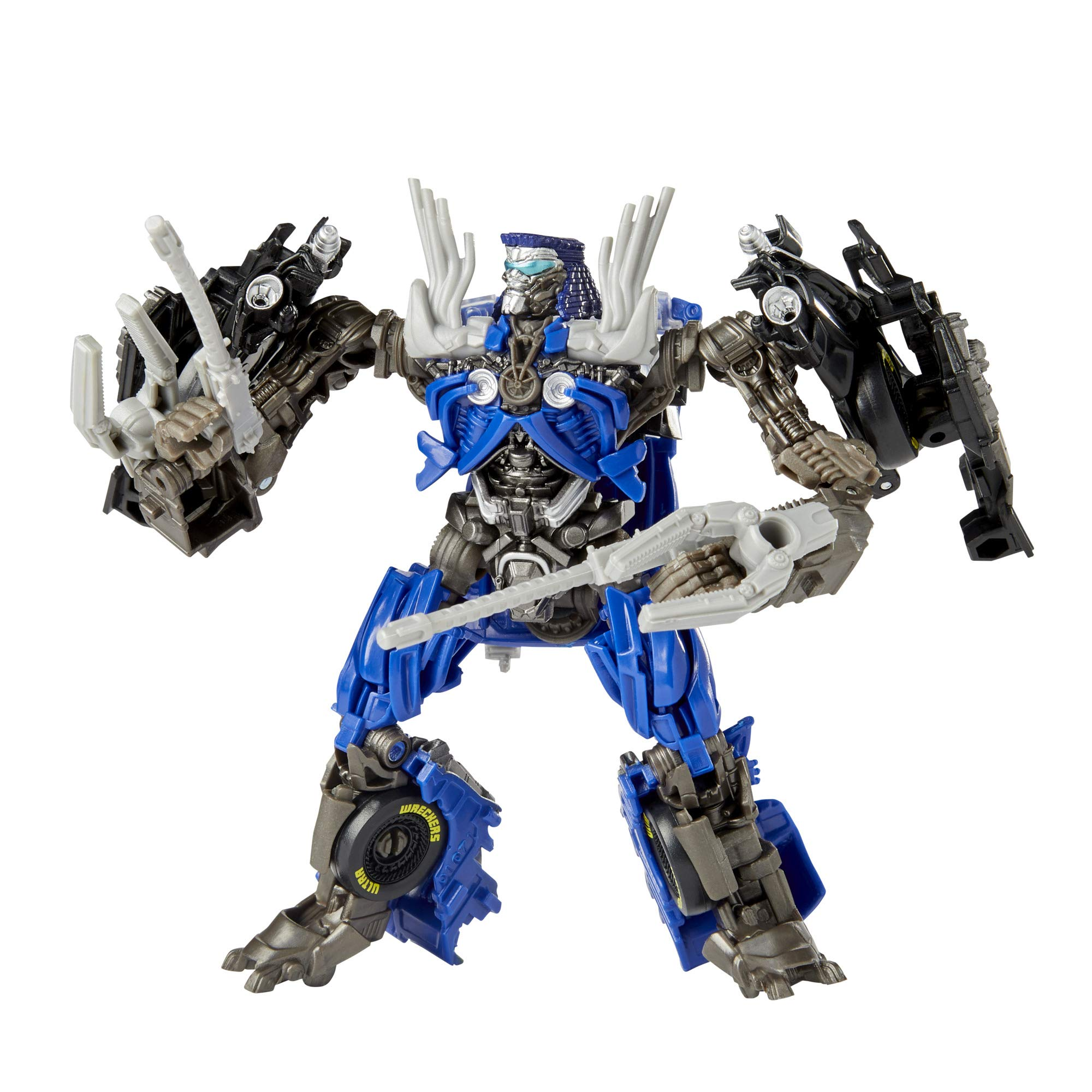 Transformers Toys Studio Series 63 Deluxe Class Transformers: Dark of The Moon Movie Topspin Action Figure - Kids Ages 8 and Up, 4.5-inch