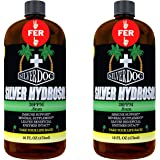 32 oz Total, Silver Doc Silver Hydrosol Mineral Supplement, Natural Alternative and Immune Support, More Effective Than Any C