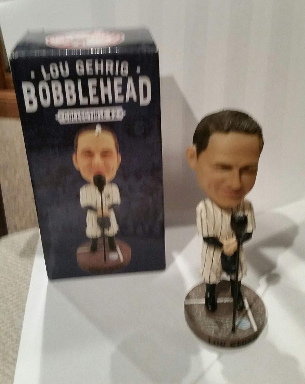 LOU GEHRIG BOBBLE HEAD 75TH ANNIVERSARY SPEECH NEW YORK YANKEES