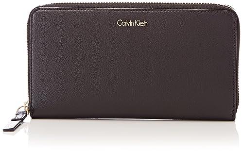 Calvin Klein - Frame Large Ziparound Xl, Carteras Mujer, Negro (Black), 2x11x20 cm (B x H T): Amazon.es: Zapatos y complementos