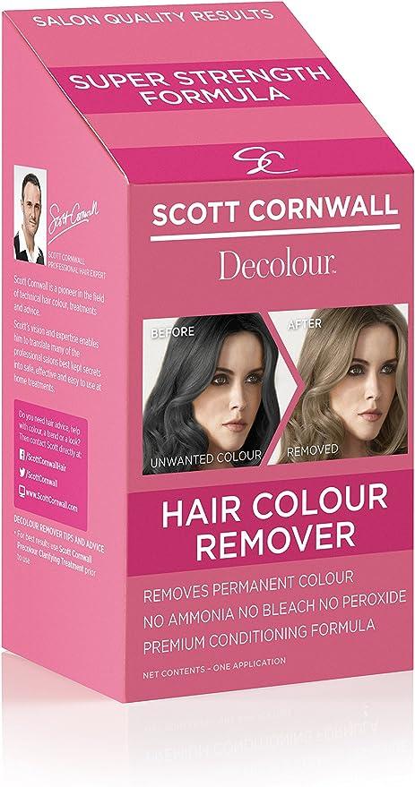 Scott Cornwall Decolour pelo color Remover