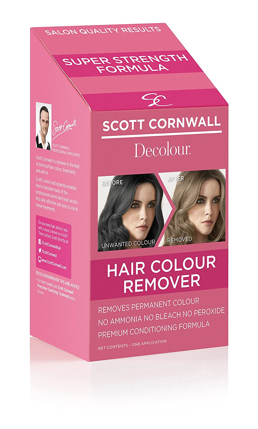 Amazon Scott Cornwall Decolor Hair Color Remover Beauty