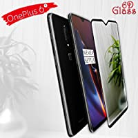 Original Premium One Plus 6T 6DTempered Glass – Premium Full Glue OnePlus 6T Tempered Glass, Full Edge-Edge Screen Protection for One Plus 6T