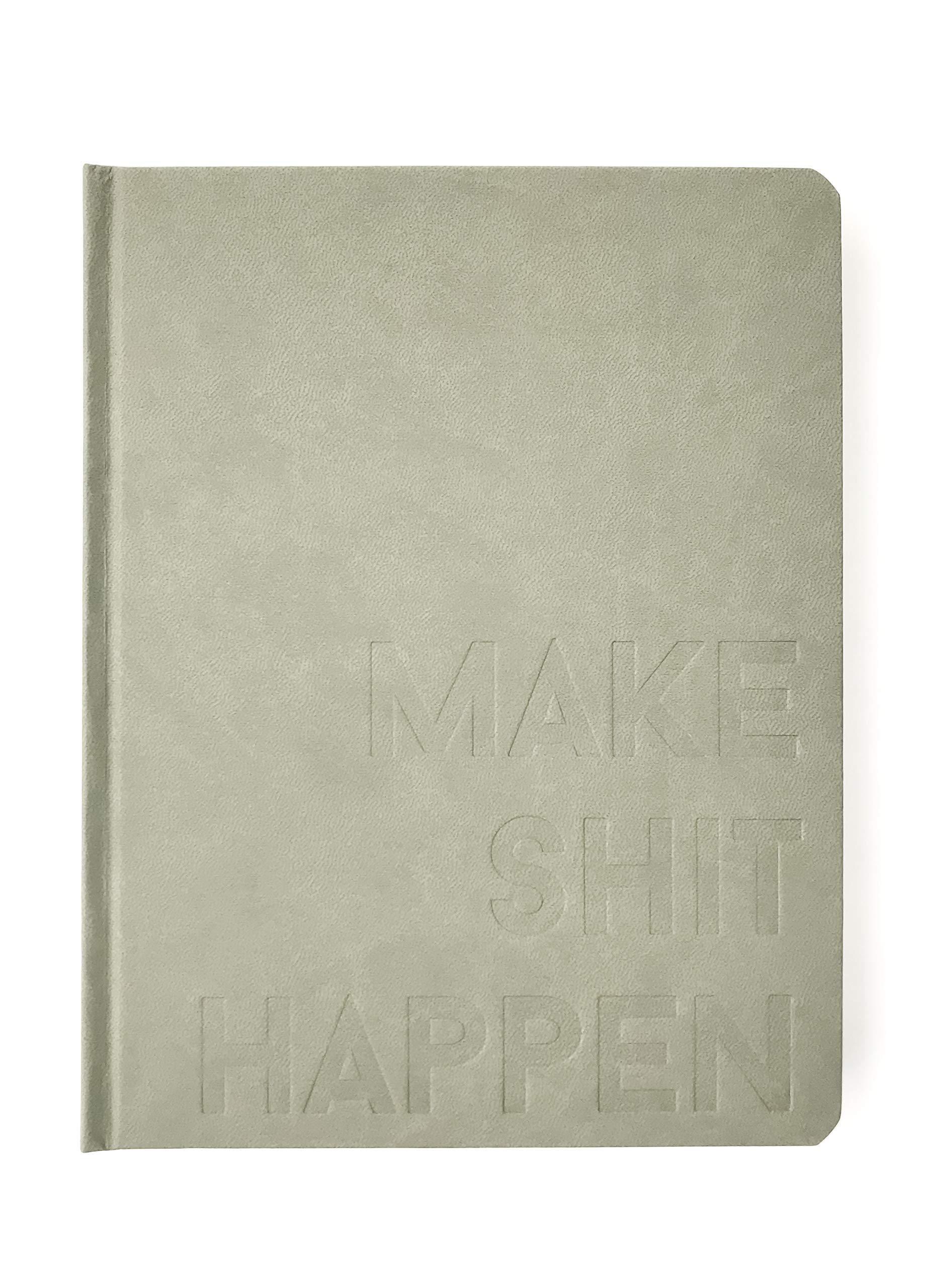 2019 Make Shit Happen Planner - Sage Alter Ego Cover, Goal Setting Planner and Journal