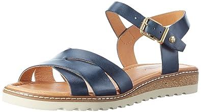 Pikolinos Damen Alcudia W1l Offene Sandalen mit Keilabsatz