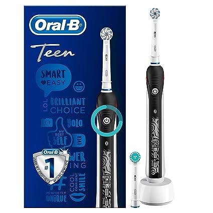 Oral-B SmartSeries Teen Boys Sensi Ultrathin - Cepillo eléctrico recargable con tecnología de Braun, 1 mango, 3 modos incluyendo blanqueado y sensible ...
