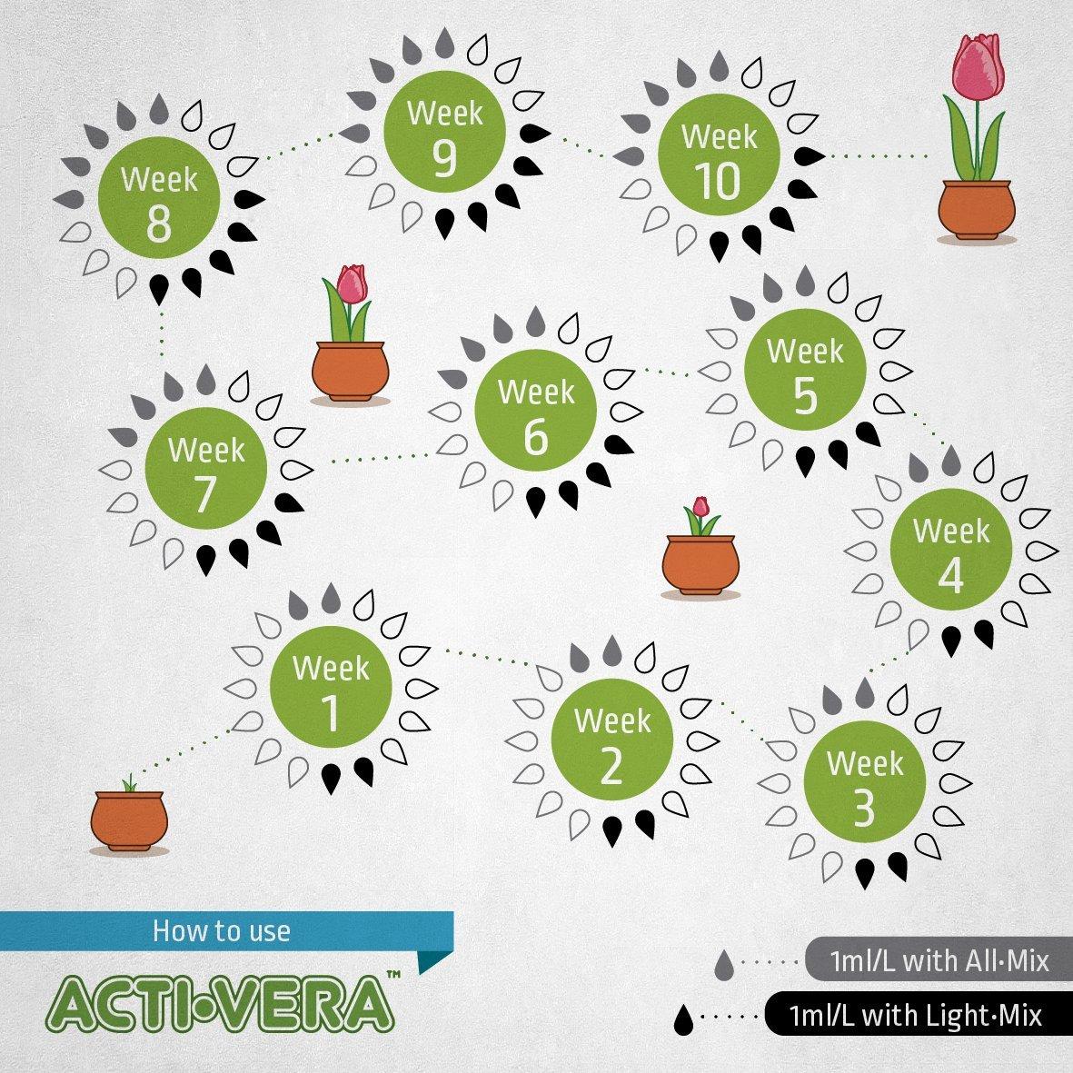 BioBizz 1 Litre Acti-Vera Botanic Activator 06-300-130