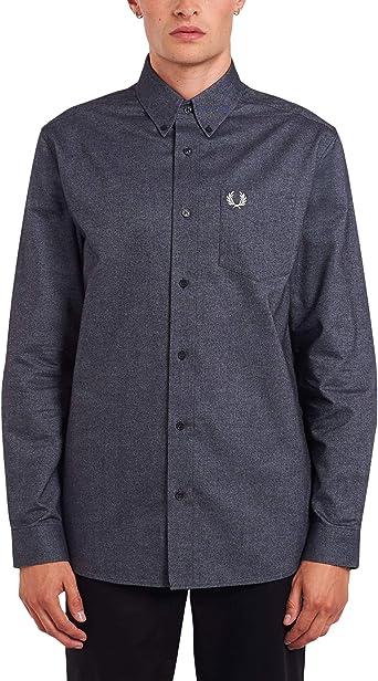 Fred Perry - Camisa Oxford cepillada para hombre: Amazon.es ...