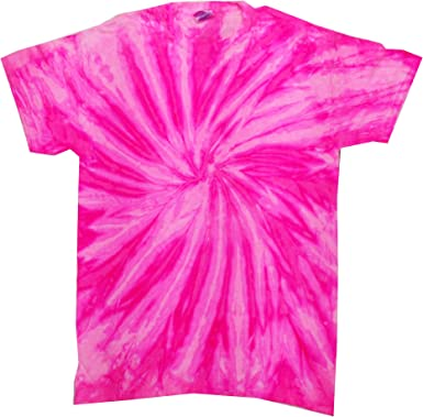 Orange lollipop Tie Dye T-Shirt Age 4-5yrs