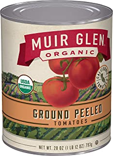product image for Muir Glen Organic Ground Peeled Tomatoes, 28 oz (Pack of 12)