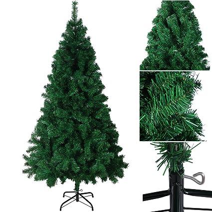 SANVA Árbol de Navidad Artificial Árbol Espeso y Lujo Verde/Blanco ...