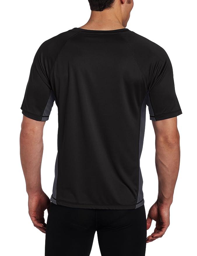 Kanu Surf Men's Big CB Extended-Size Rashguard UPF 50  Swim Shirt ...