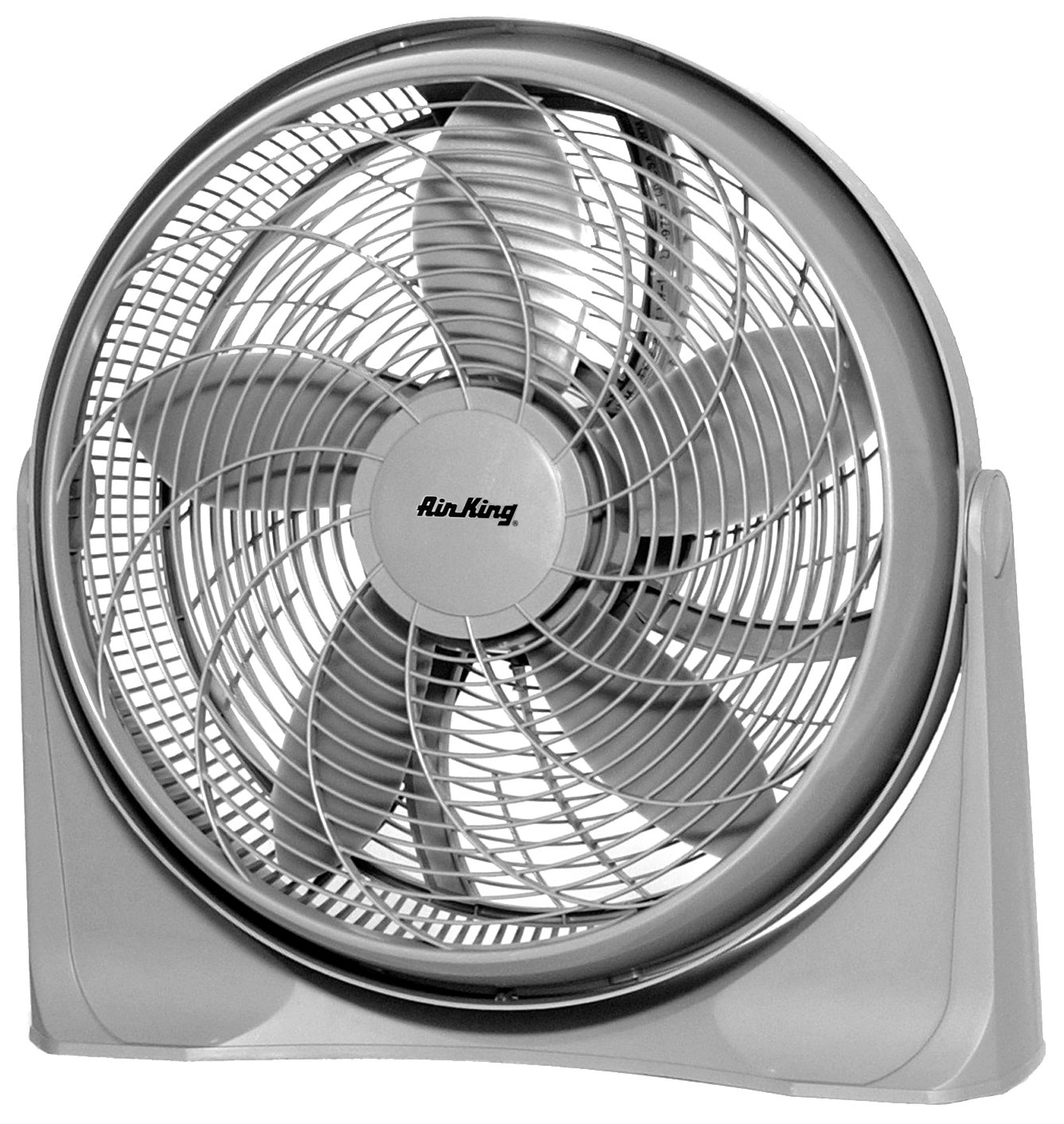 Air King 9500 20-Inch 3-Speed Commercial Grade Deluxe Pivot Fan with 2,390-CFM, 1/22-Horsepower, Grey Finish