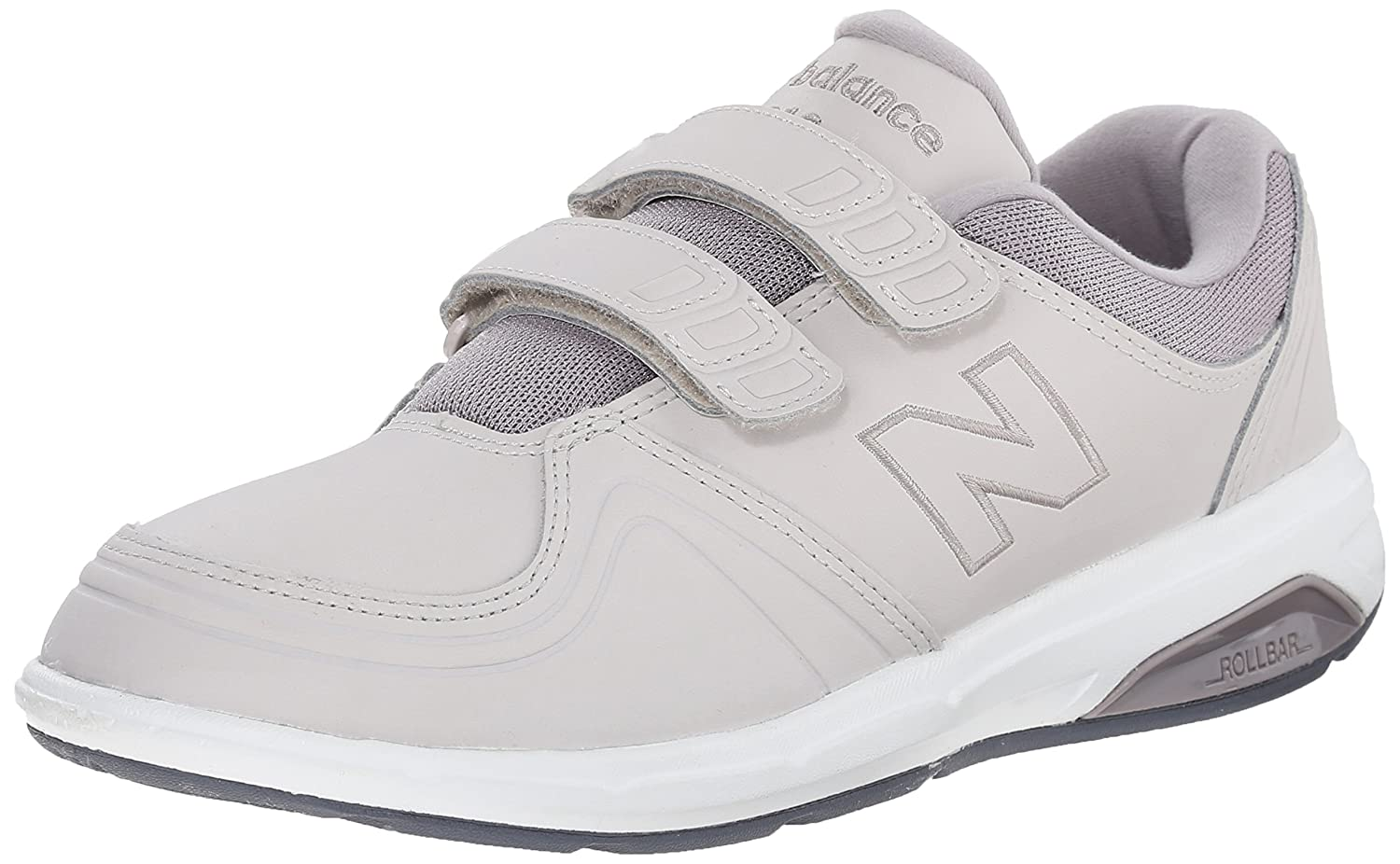 New Balance Women's WW813 Hook and Loop Walking Shoe B00R792TA6 7 2E US|Grey