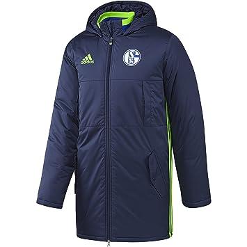 adidas Herren FC Schalke 04 Stadium Jacket Stadionjacke