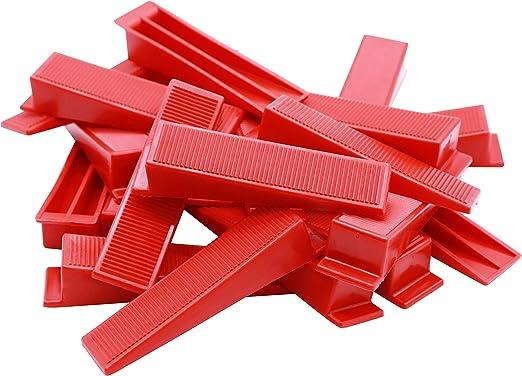 Fliesenkeile 20° rot Kunststoffkeile Verlegehilfe Plan System Fliesen verlegen