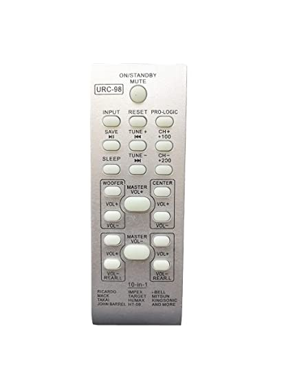 Buy Lipiworld Urc 98 10 In 1 Universal Home Theater Remote Control