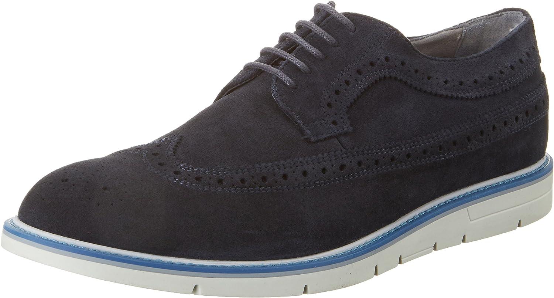 Geox U Uvet A, Zapatos de Vestir para Hombre