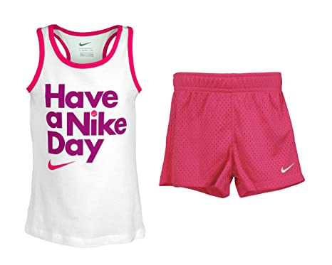 Amazon.com NIKE Toddler Girls Have a Nîke Day Tank \u0026 Shorts