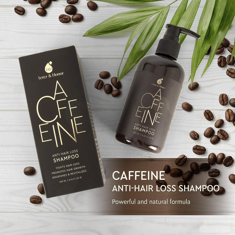 Amazon.com: Caffeine Champú para el crecimiento del cabello ...