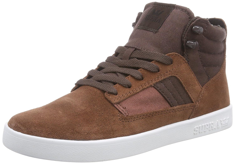 Supra Bandit Unisex Erwachsene Hohe Sneakers Braun Brown / Chocolate  White Brc