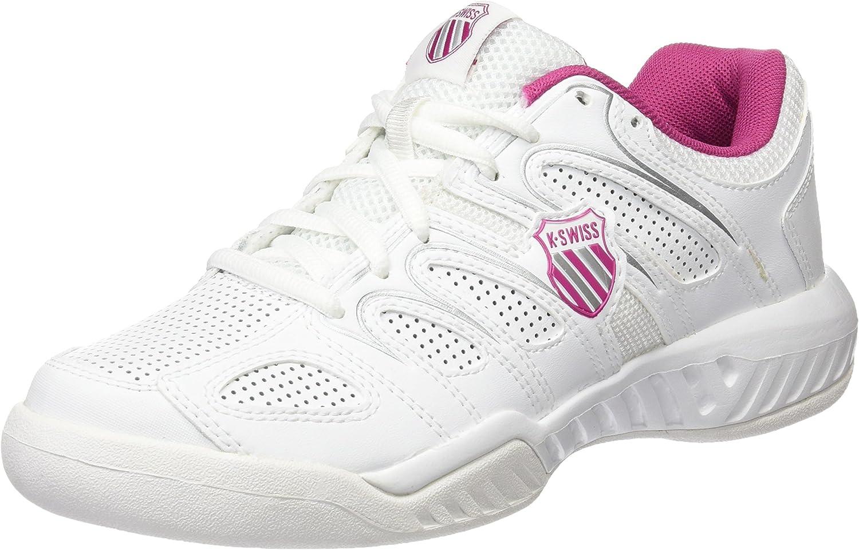 K-Swiss Calabasas Omni - Zapatillas para Mujer, Blanco/Rosa (WHT ...