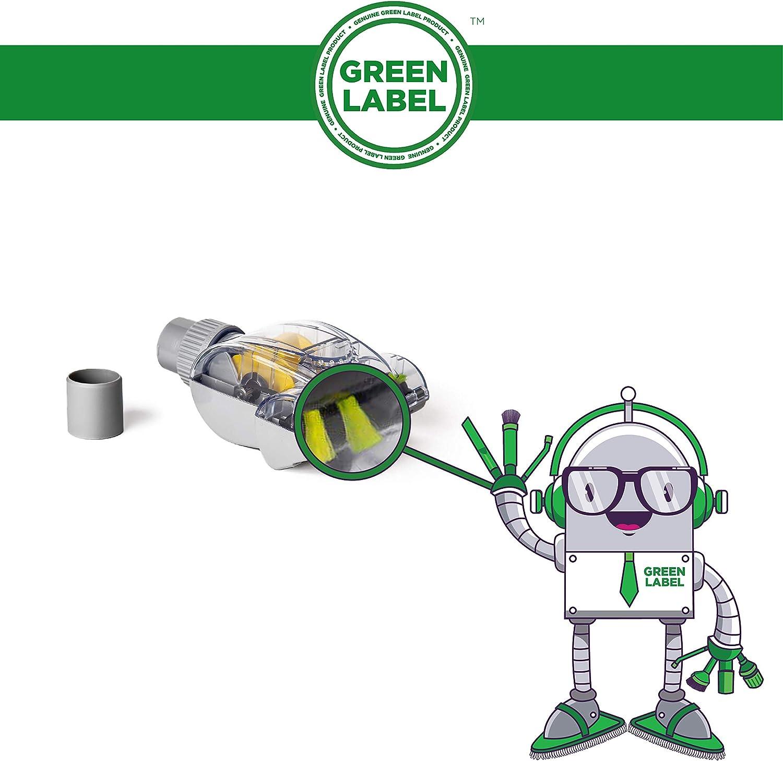 Green Label Cepillo Mini Turbo Universal (32-35 mm) para Retirar ...