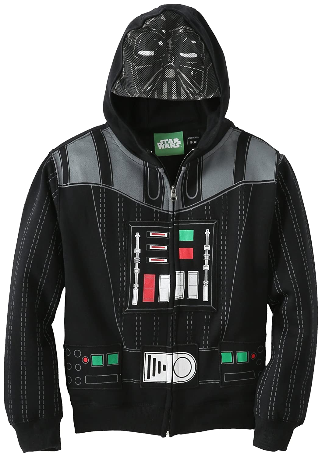 Amazon.com: Star Wars Boys' Vader Eyes Hoodie: Fashion Hoodies ...