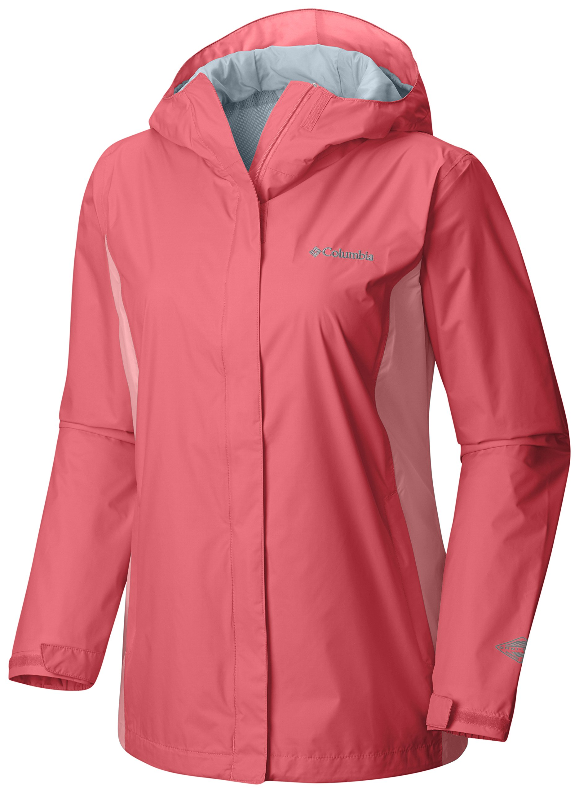 Columbia Women's Plus Size Arcadia Ii Jacket, Blush Pink, Sorbet, 1X