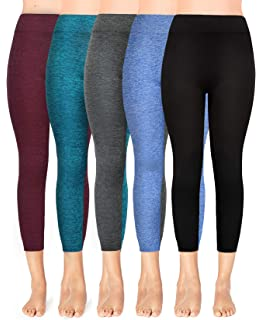 b8e8d9bafd090 Moon Wood Extra Soft Capri Leggings with High Waist, Stretch Cropped  Workout Leggings