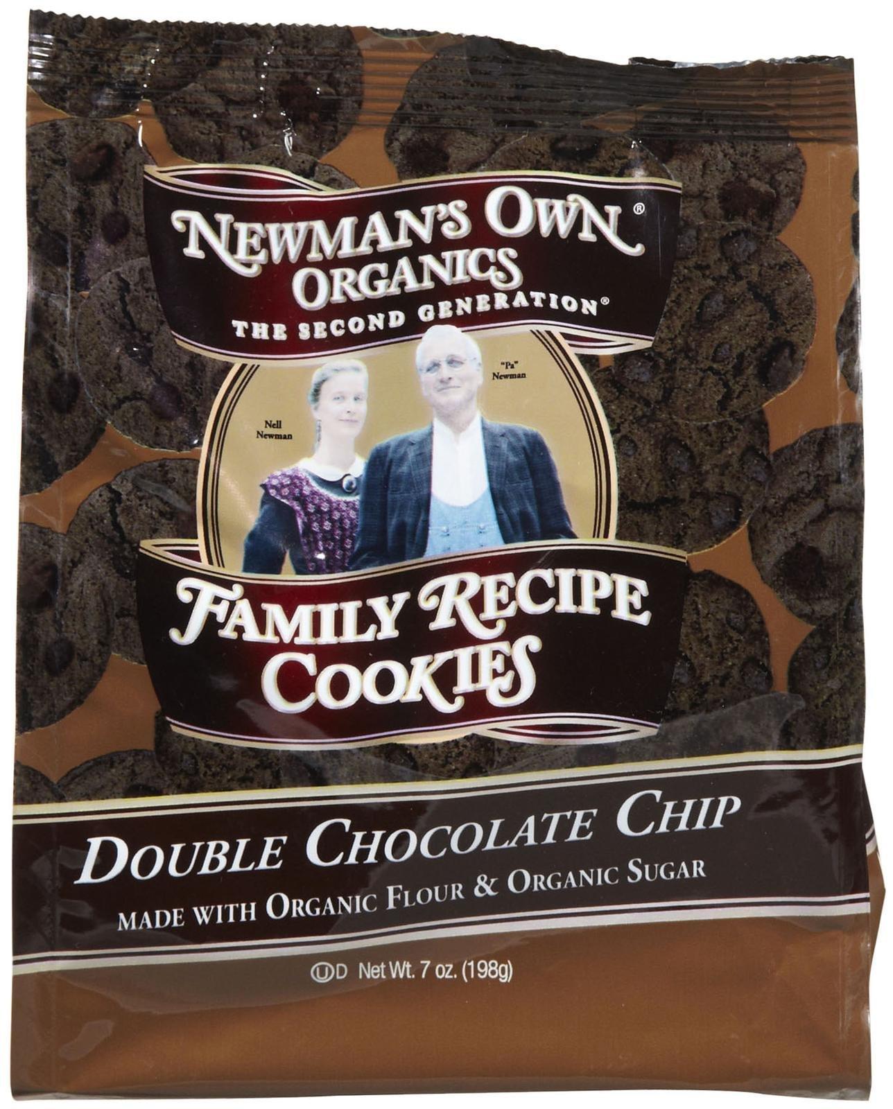 Newman's Own Organics Organic Double Chocolate Chip Cookies - 7 oz