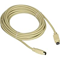 C2G 09469 PS/2 M/F Keyboard/Mouse Extension Cable (15 Feet, 4.57 Meters), Beige