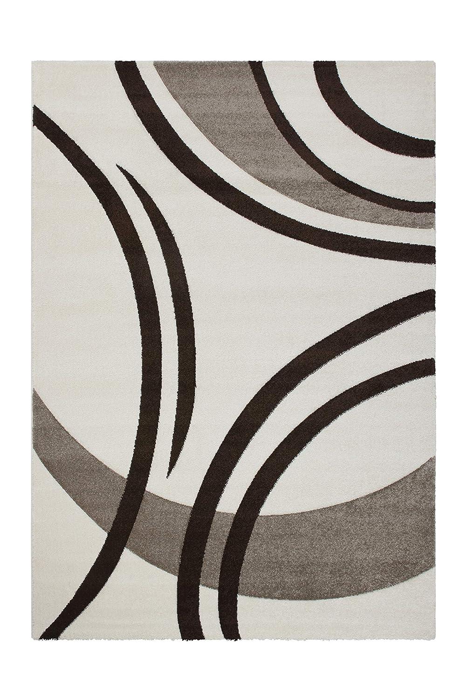 Lalee  347166930  Moderner Moderner Moderner Designer Teppich   Konturenschnitt    Beige   TOP Preis   Grösse   160 x 230 cm B07KP3VSXH Teppiche 8729f9