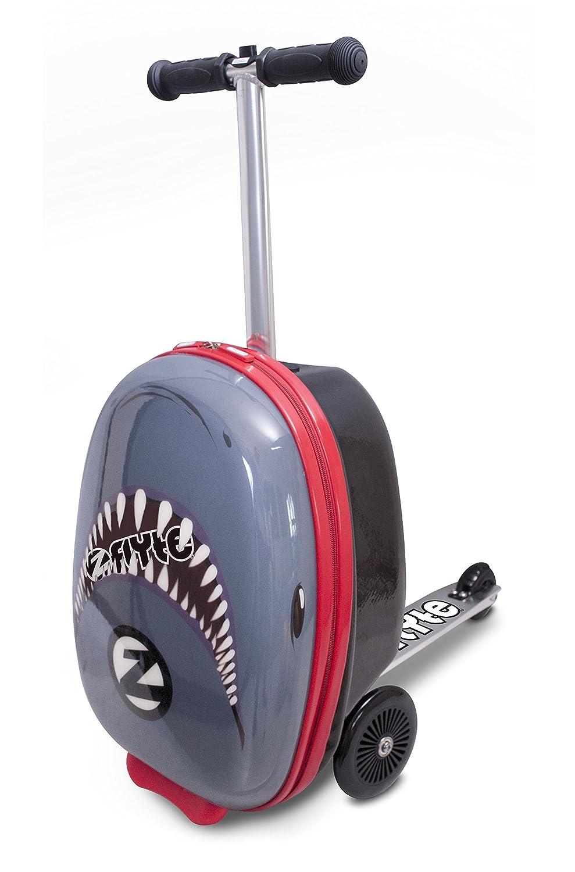 Flyte Snapper The Shark Maleta Midi Scooter de 18, Juventud Unisex, Azul
